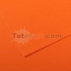 Mi-teintes Canson Naranja Intenso, 160 gr., 21X30 cm.