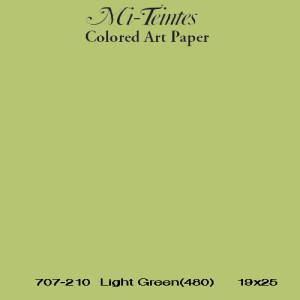 Mi-teintes Canson Verde Almendra, 160 gr., 21X30 cm.