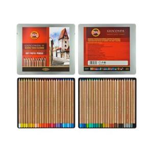 totenart-Estuche de Lápices Pastel Giocconda, Koh-i-Noor (48 colores)