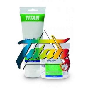 Heavy Gel Acrilico Mate Titan, 500 ml.