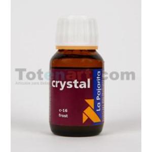 Pintura para cristal efecto congelado-Frost La Pajarita, 50 ml.