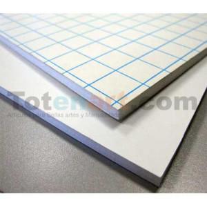Carton Pluma Blanco Adhesivo, 10 mm., 100x200 cm., caja 15 unida