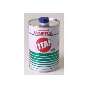 Aguarras Mineral Titan, 1 litro