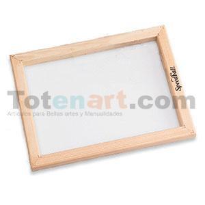 Pantalla Serigrafia 25x30 cm. marco de madera