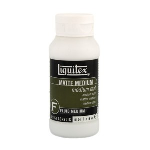 Medium Mate, Liquitex 237 ml.