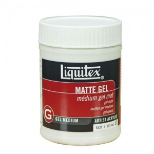 Medium Gel mate, Liquitex 237 ml.
