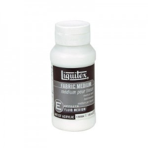 Medium Textil, Liquitex 118 ml.