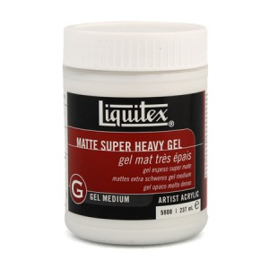 Gel Superespeso mate, Liquitex 237 ml.