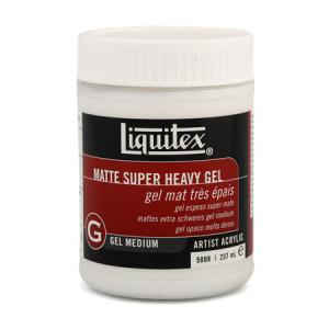 Gel Superespeso mate, Liquitex 237 ml.