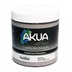 Akua Carborundum Gel Medium grabado, 237 ml.