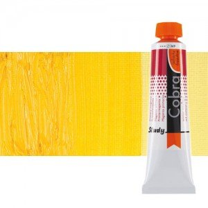 Óleo al agua Cobra Study color amarillo permanente medio (40 ml)