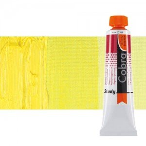 Óleo al agua Cobra Study color amarillo limón permanente (40 ml)