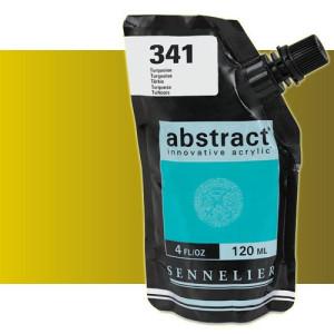 totenart-Acrilico Sennelier Abstract Oro Iridescente 028, 120 ml.