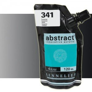 totenart-Acrilico Sennelier Abstract Negro Iridescente 070, 120 ml.