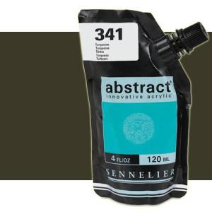 totenart-Acrilico Sennelier Abstract Tierra Sombra Tostada 202, 120 ml.