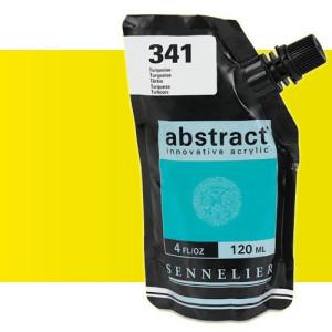 totenart-Acrilico Sennelier Abstract Amarillo Fluo 502, 120 ml.