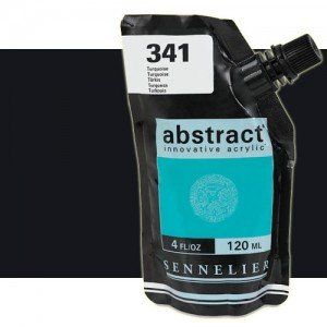 totenart-Acrilico Sennelier Abstract Negro de Marte 759, 120 ml.