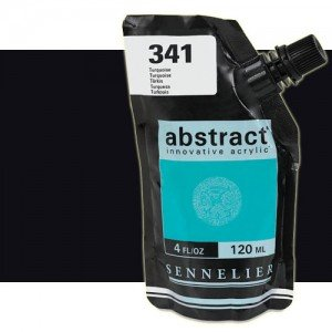 totenart-Acrilico Sennelier Abstract Negro de Marte 759B, 120 ml.