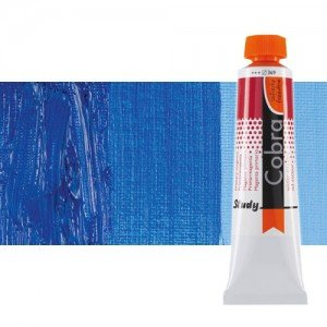 Óleo al agua Cobra Study color azul cobalto ultramar (40 ml)