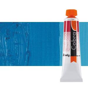 Óleo al agua Cobra Study color cian primario (40 ml)