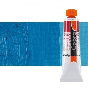 Óleo al agua Cobra Study color cian primario (200 ml)
