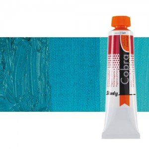 Óleo al agua Cobra Study color azul turquesa (40 ml)