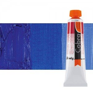 Óleo al agua Cobra Study color azul ultramar (40 ml)