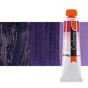 Óleo al agua Cobra Study color violeta azulado permanente (200 ml)