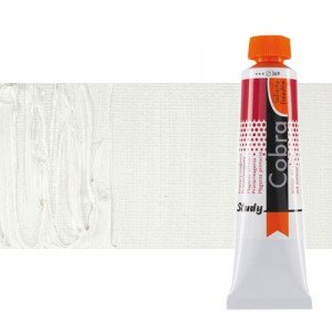 Óleo al agua Cobra Study color blanco de titanio (40 ml)