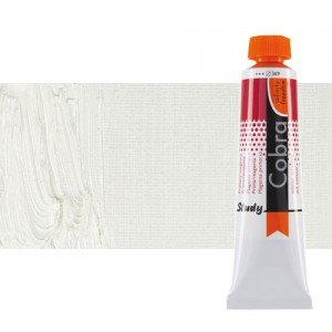 Óleo al agua Cobra Study color blanco de zinc (200 ml)