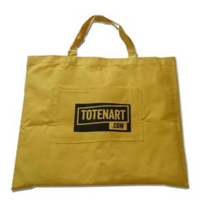 Totenart. Bolsa porta lienzos y carpetas con bolsillo (81x68 cm)