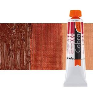 Óleo al agua Cobra Study color tierra siena tostada (40 ml)