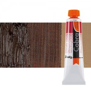 Óleo al agua Cobra Study color tierra sombra tostada (40 ml)