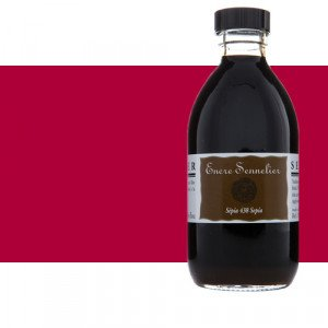 Tinta dibujo Carmín 635, 250 ml. Sennelier