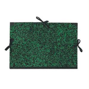 totenart-Carpeta dibujo 80x120 cm., Verde con cintas