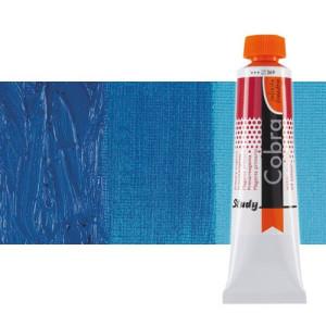 Óleo al agua Cobra Study color azul cerúleo ftalo (40 ml)