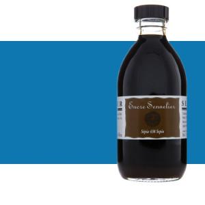 Tinta dibujo Azul cobalto 303, 250 ml. Sennelier
