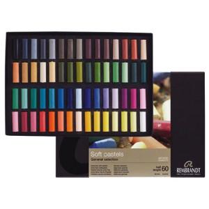 Caja pastel Rembrandt 60 medios colores, Seleccion General