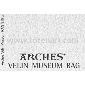 Infinity Velin Museum Rag, 315 gr., A2, caja 25 uds.