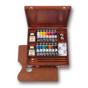 Totenart-Caja de madera Inspiration acrílicos Van Gogh.