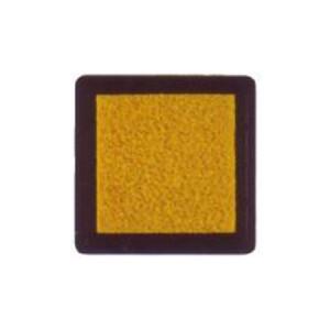 Tinta para sellos amarilla, 3x3 cm, Nellie Snellen al agua