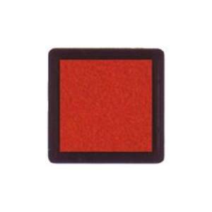 Tinta para sellos naranja, 3x3 cm, Nellie Snellen al agua *