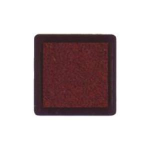 Tinta para sellos marron, 3x3 cm, Nellie Snellen al agua