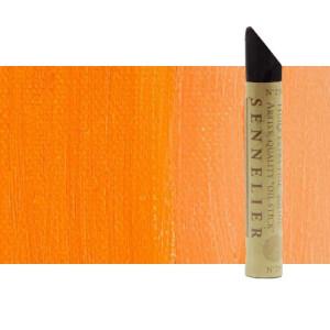 Óleo en barra Sennelier 38 ml. Naranja cadmio