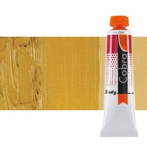 Óleo al agua Cobra Study color ocre amarillo (200 ml)