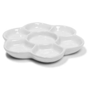 totenart-Paleta redonda de porcelana 15 cm