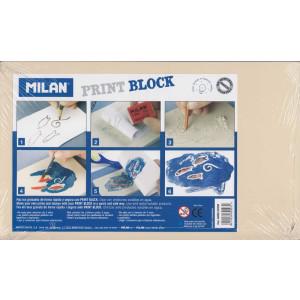 Milan Print Block 17x28.3 cm.