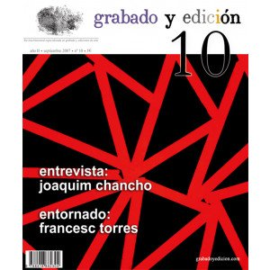 Revista Grabado y Edicion, n. 10