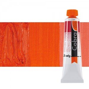 Óleo al agua Cobra Study color bermellón (200 ml)