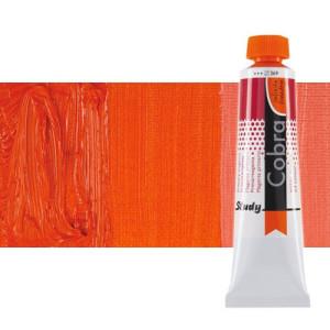 Óleo al agua Cobra Study color bermellón (200 ml)